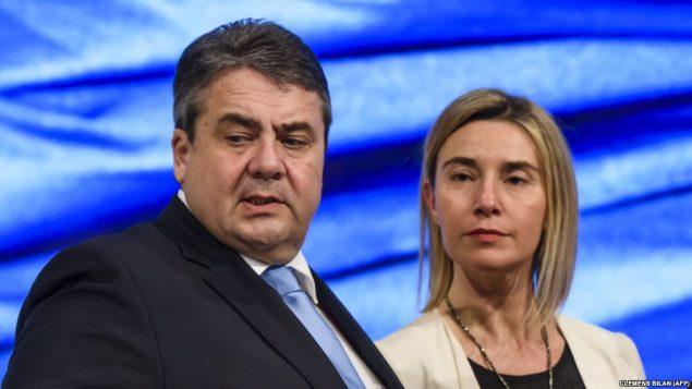 وزیر خارجه آلمان و مقام ارشد اتحادیه اروپا