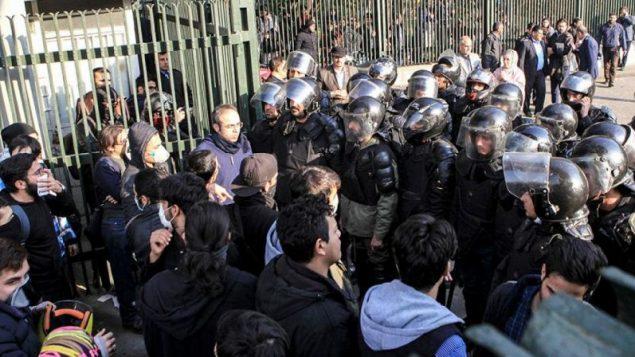 اعتراضات در تهران