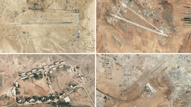 مناطیقی از تاسیسات ایران در سوریه