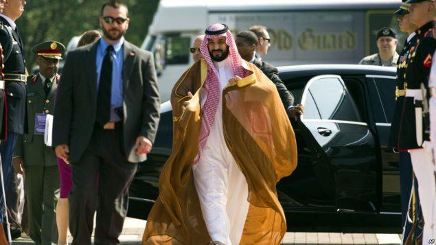 محمد بن سلمان ولیعهد عربستان سعودی