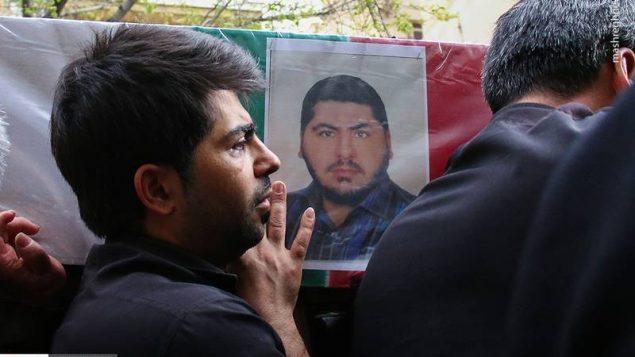 مراسم تشییع جنازه امرایی - تهران