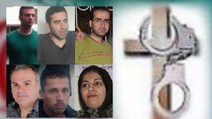 مسیحیان بازداشتی در شیراز