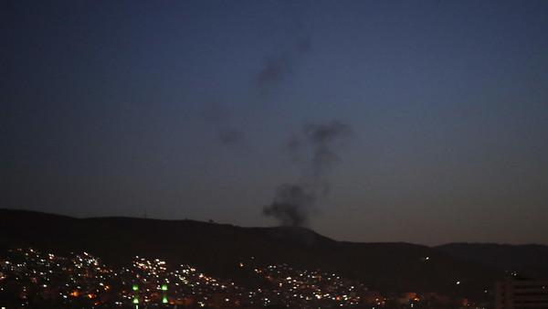 یکی از مناطق مورد حمله در سوریه