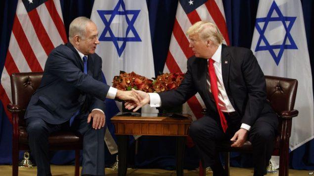 رهبران آمریکا و اسرائیل