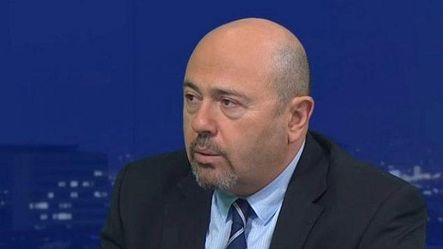 توضیح تصویر: گاری کورن سفیر اسرائیل در روسیه . (YouTube screenshot)
