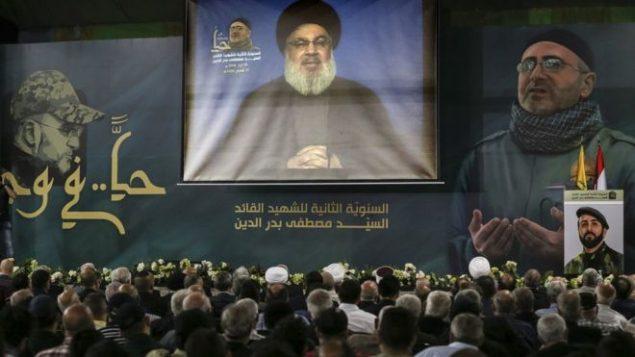گردهمایی حزب الله در لبنان