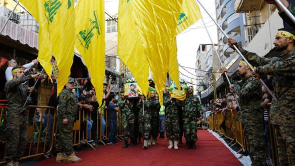 گروهی از اعضای سازمان تروریستی حزب الله لبنان