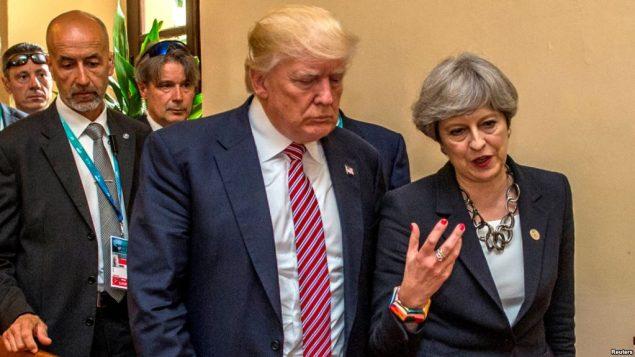 رهبران بریتانیا و آمریکا