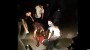 صحنه ای از اعتراضات خونین کازرون