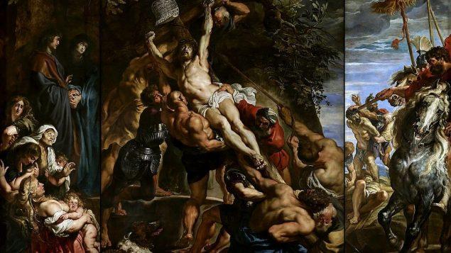 توضیح تصویر: بالا بردن صلیب، اثر پیتر پل روبن، ۱۶۱۰. (public domain via wikipedia)