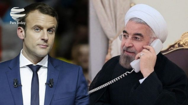 روسای جمهور ایران و فرانسه