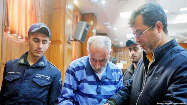 محمد ثلاث در دادگاه