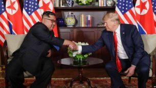 دیدار تاریخی رهبران آمریکا و کره شمالی