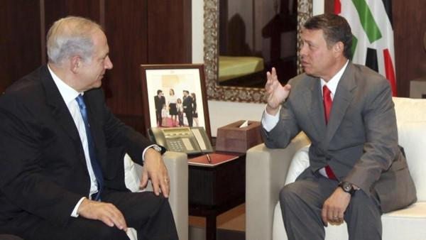 رهبران اردن و اسرائیل