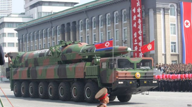 مانوری در  کره شمالی
