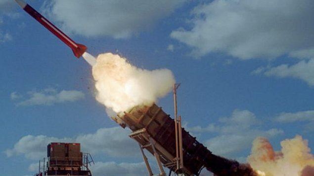 توضیح تصویر: موشک پاتریوت. (Israel Air Force)