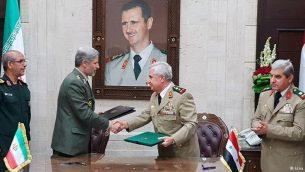 مقامات نظامی ایران و سوریه