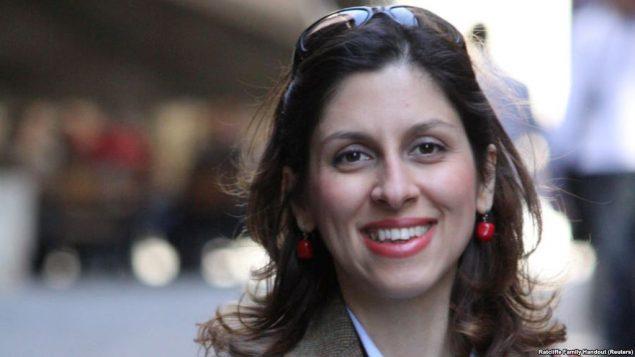 نازنین زاغری شهروند ایرانی- بریتانیایی که در ایران زندانی است