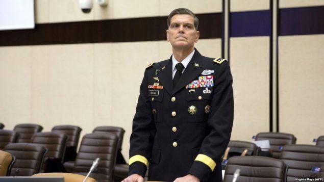 ژنرال جوزف ووتل رئیس ستاد فرماندهی مرکزی ارتش آمریکا