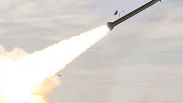 تصویر: راکت پیشرفته که در ۲۷ اوت ۲۰۱۸ از سوی وزارت دفاع خریداری شد. (Israel Military Industries)