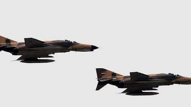 عکس تزئینی: جت جنگنده فانتوم اف ۴ نیروی هوایی ایران، ساخت ایالات متحده. (AFP Photo/Behrouz Mehri)