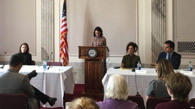 نشستی درباره حقوق بشر در ایران در سنای آمریکا