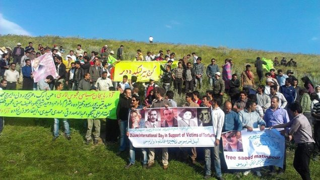 تجمع «روز جهانی مبارزه با شکنجه» در آذربایجان