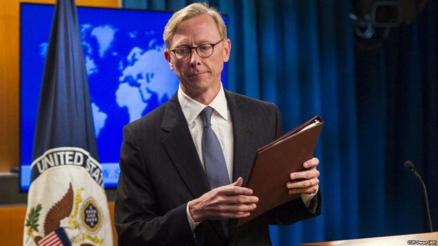 برایان هوک، مسئول گروه ویژه اقدام ایران در وزارت خارجه آمریکا