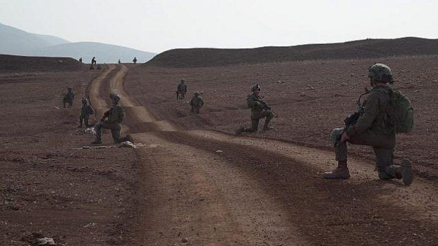 تصویر: سربازان لشکر کماندوی نیروی دفاعی در تمرینات آموزشی عظیم در نوامبر ۲۰۱۸. (Israel Defense Forces)
