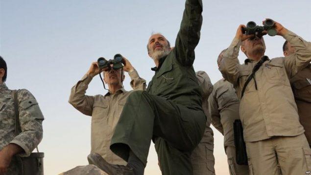 رئیس ستاد کل نیروهای مسلح ایران در حلب سوریه