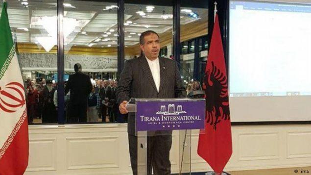 غلامحسین محمدنیا هفتم شهریورماه ۹۵ سفیر ایران در آلبانی شد