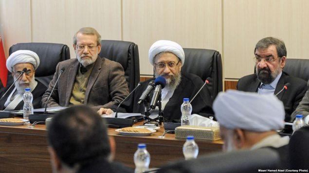 برخی از مقامات ارشد نظام در مجمع