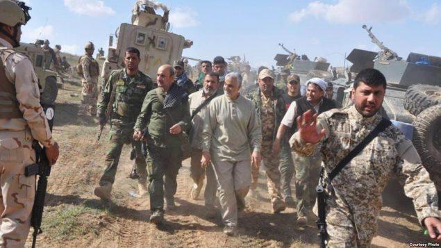 قاسم سلیمانی در عراق