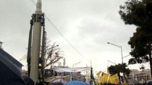 موشکهای نمایش داده شده ی سپاه