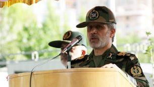 وزیر دفاع رژیم ایران