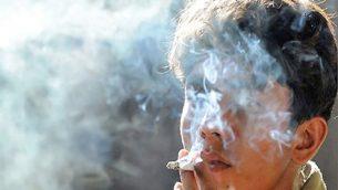 یک جوان معتاد در ایران