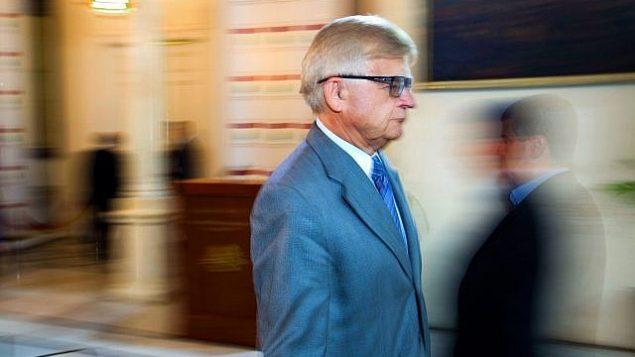 تصویر: آلکساندر زاسیپکین سفیر روسیه در لبنان، در بیروت، لبنان، ۱۶ مه ۲۰۱۶. (Hassan Ammar/AP)