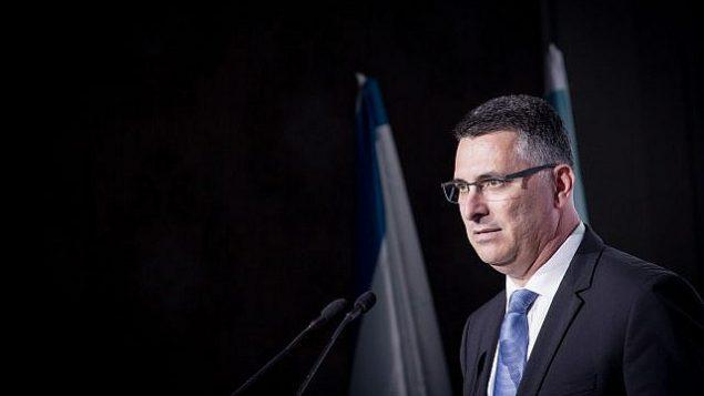 تصویر: گیدون سئار وزیر پیشین در کنفرانس پساسیاسی اورشلیم که در هتل والدورف استوریا برگزار شد، ۲۱ نوامبر ۲۰۱۸. (Miriam Alster/Flash90)