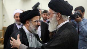 علی خامنهای ، آخوند ابراهیم رئیسی را به ریاست قوه قضائیه منصوب کرد