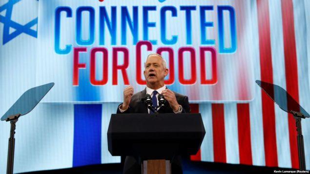 بنی گانتز، رقیب اصلی بنیامین نتانیاهو نخستوزیر اسرائیل