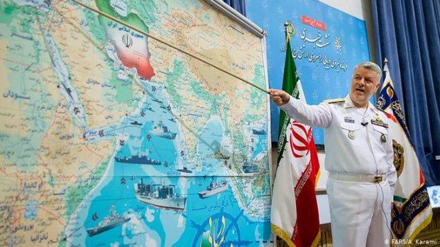 دریادار محمد حسین خانزادی ، فرمانده نیروی دریایی ارتش ایران