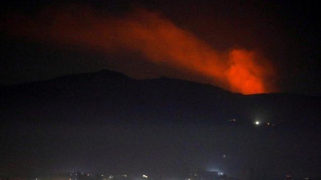 صحنه ای از انفجار روز شنبه
