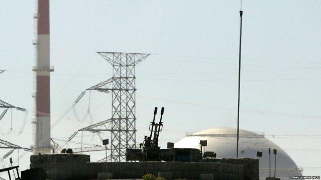 یکی از نیروگاههای اتمی ایران