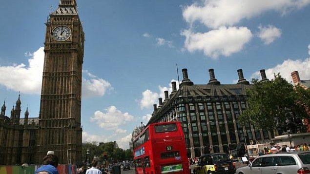 تصویر: ساعت بیگ بنگ و بنای پارلمان لندن. (Yossi Zamir/Flash90/File)