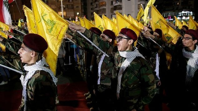 تصویر: حامیان حزب الله در راهپیمایی روز قدس، بیروت، ۳۱ مه ۲۰۱۹. (AP Photo/Hassan Ammar)