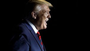 تصویر: دونالد ترامپ رئیس جمهور، در حال ورود به مراسم کنفرانس ۲۰۱۹ بزرگداشت کالجها و دانشگاههای ملی تاریخی سیاهان، واشنگتن، سه شنبه، ۱۰ سپتامبر ۲۰۱۹. (AP Photo/Carolyn Kaster)
