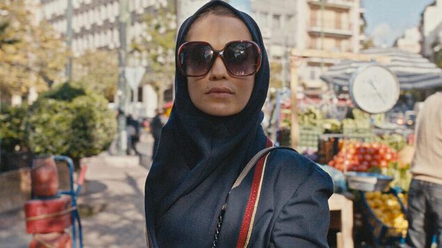 "This image released by Apple TV+ shows Niv Sultan as Tamar Rabinyan in a scene from ""Tehran."" (Apple TV+ via AP)"