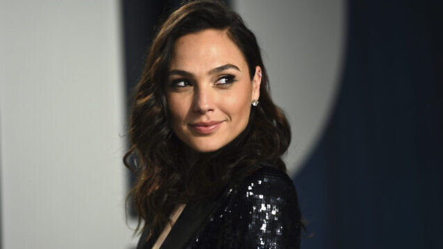 Gal Gadot arrives at the Vanity Fair Oscar Party on Sunday, Feb. 9, 2020, in Beverly Hills, Calif. (Photo by Evan Agostini/Invision/AP)