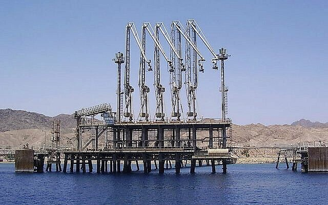 تصویر: ترمینال کمپانی خط لوله ایلات اشکلون، ایلات. (CC BY 2.5/Pikiwikisrael)