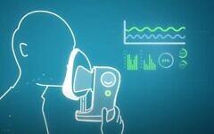 تصویر: کمپانی Scentech Medical اسرائیل امیدوار است نوعی تست تنفسی تولید کند که قادر به تشخیص ویروس کرونا در بازدم بیمار باشد. (YouTube screenshot)